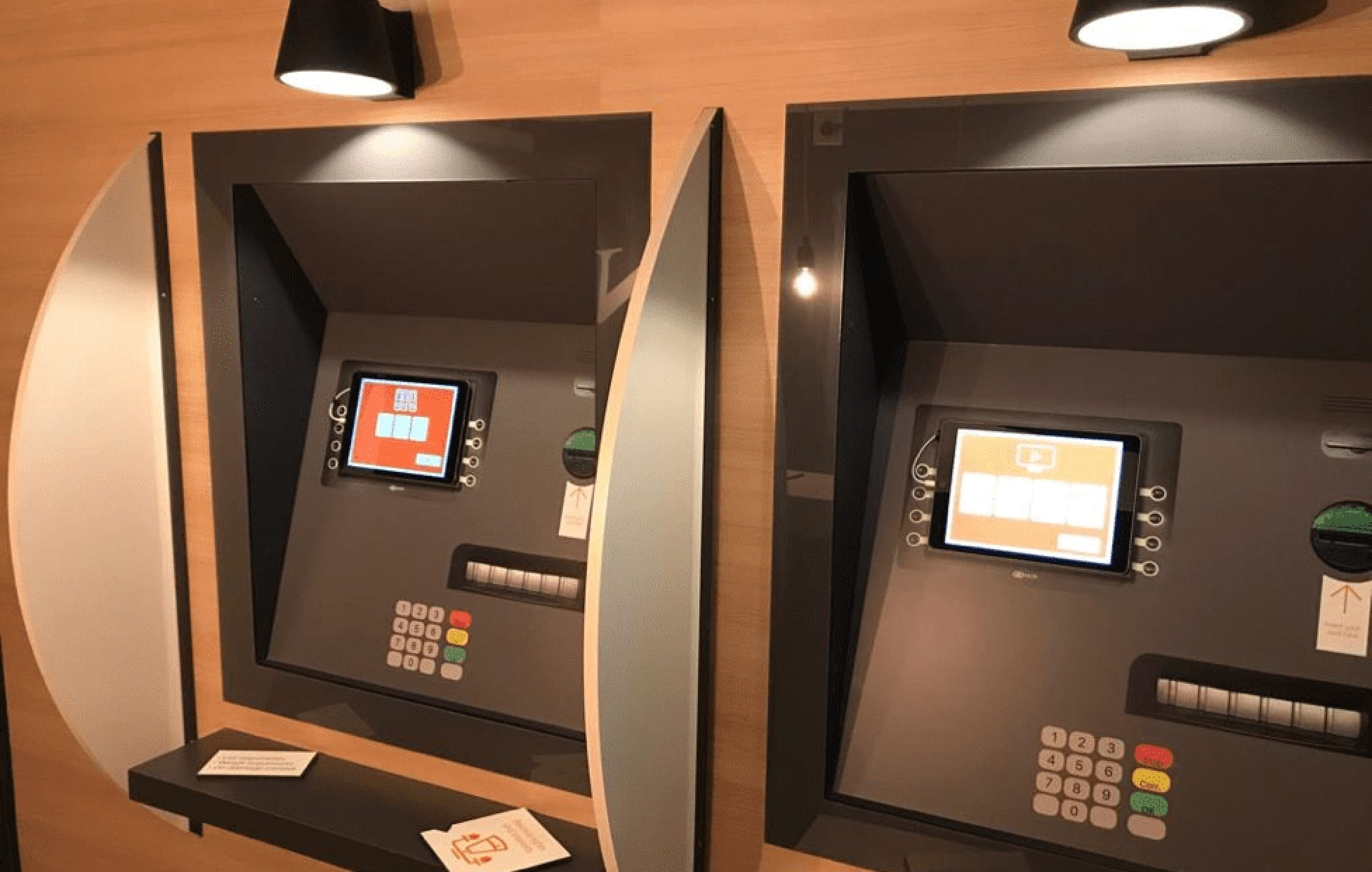 Escape room – two ATMs